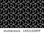 the geometric pattern with... | Shutterstock .eps vector #1452132899