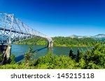 View Of The Bridge Of The Gods...