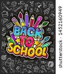 concept of education. school... | Shutterstock .eps vector #1452160949