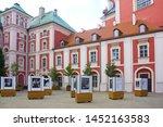 poznan  poland   june 20  2019  ... | Shutterstock . vector #1452163583