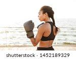 portrait of lovely pretty woman ...   Shutterstock . vector #1452189329