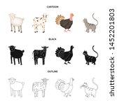 vector illustration of breeding ... | Shutterstock .eps vector #1452201803