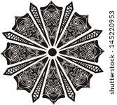 floral pattern design element...   Shutterstock .eps vector #145220953