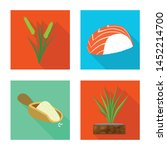 vector illustration of raw and...   Shutterstock .eps vector #1452214700