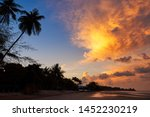 beautiful sky and clouds in the ... | Shutterstock . vector #1452230219