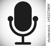 microphone vector icon  web...
