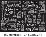 hand drawn doodle set of... | Shutterstock .eps vector #1452281249