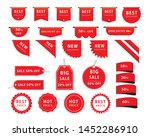 tags and banner set. vector...   Shutterstock .eps vector #1452286910
