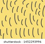 pattern with chaotic squiggles  ... | Shutterstock .eps vector #1452293996