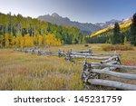 Mount Sneffels Range  Colorado  ...