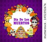Day Of Dead Or Dia De Los...