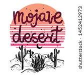 Mojave Desert   Lettering With...
