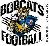 bobcats football team design...   Shutterstock .eps vector #1452425360