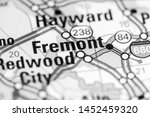 fremont. california. usa on a... | Shutterstock . vector #1452459320