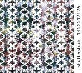 tie dye texture creative repeat ... | Shutterstock . vector #1452512126