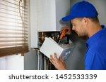 House Gas Heating Boiler...