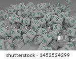 cube or block number and... | Shutterstock . vector #1452534299