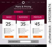 plan and pricing page. high...