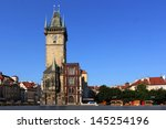 Old Town City Hall In Prague ...