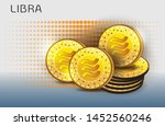 digital currency created by... | Shutterstock .eps vector #1452560246