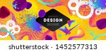 abstract design with... | Shutterstock .eps vector #1452577313