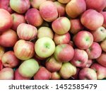 Small photo of Red apples. Apples are the fruit without season. They are found throughout the year