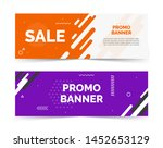 sale banners with text space ... | Shutterstock .eps vector #1452653129