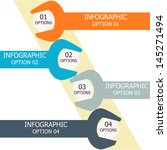 infographics options banner.... | Shutterstock .eps vector #145271494