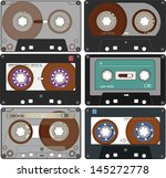 the complete set of the... | Shutterstock .eps vector #145272778