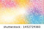 love card vector. illustration... | Shutterstock .eps vector #1452729383