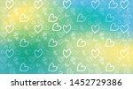love card vector. illustration... | Shutterstock .eps vector #1452729386