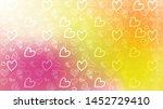 love card vector. illustration... | Shutterstock .eps vector #1452729410