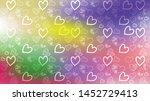 love card vector. illustration... | Shutterstock .eps vector #1452729413