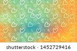 love card vector. illustration... | Shutterstock .eps vector #1452729416