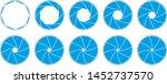 vector illustration of a lens... | Shutterstock .eps vector #1452737570