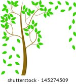 summer tree | Shutterstock . vector #145274509