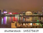 River Thames South Bank In...