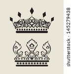 Crown Curl Decoration 3. Nice and smooth vector design. Good use for your symbol, sticker design, or any design you want. Easy to edit or change color.