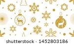 Classical Christmas Seamless...