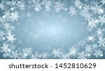 christmas background of complex ... | Shutterstock .eps vector #1452810629