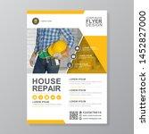 corporate construction tools... | Shutterstock .eps vector #1452827000
