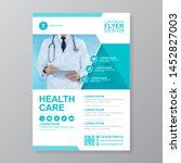 corporate healthcare cover a4... | Shutterstock .eps vector #1452827003