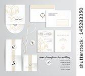 vector templates to design a... | Shutterstock .eps vector #145283350