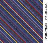 diagonal stripes seamless... | Shutterstock .eps vector #1452867566