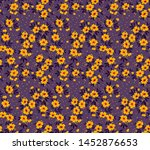 vector seamless pattern. pretty ... | Shutterstock .eps vector #1452876653