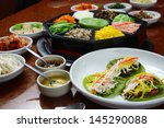 Small photo of Korean cuisine set