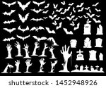 illustration  collection of... | Shutterstock . vector #1452948926