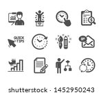 set of education icons  such as ...   Shutterstock .eps vector #1452950243