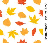 Cute Autumn Seamless Pattern...