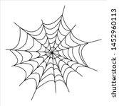 halloween icons  thin... | Shutterstock .eps vector #1452960113
